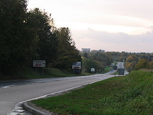 A340 road - Image: A340 near the North Hampshire Hospital