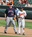AAAA8592 Brian Roberts and Justin Morneau.jpg