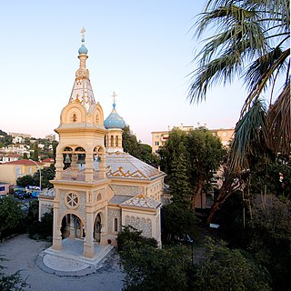 Russian Orthodox Church in Cannes