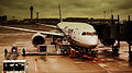 ALL NIPPON AIRWAYS FLIGHT NH204 FRANKFURT AM MAIN GERMANY TO TOKYO HANEDA AIRPORT JAPAN BOEING 787-800 DREAMLINER JA805A AT THE GATE AT HANEDA JUNE 2012 (7418718800).jpg
