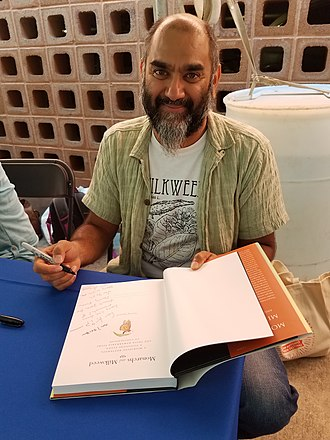 Anurag Agrawal (ecologist) - At the San Antonio Book Festival (March 2017)