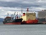 ARA Canal Beagle y ARA Almirante Irizar en Ushuaia.jpg