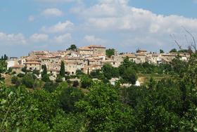 Le village côté sud.