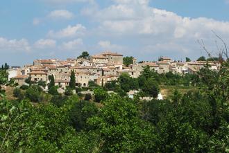 Artignosc-sur-Verdon - The southern side of the village