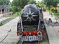 A CLW built WP locomotive christened as Akbar, now used in steam charter runs - Flickr - Dr. Santulan Mahanta.jpg