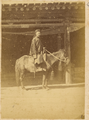 A Chinese Military Officer, Tidu, in Official Uniform on His Horse. Hubei Province, China, 1874 WDL4140.png