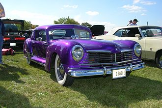 George Barris (auto customizer) - Barris custom work in 1952 performed on a 1947 Hudson