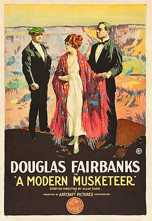 A Modern Musketeer - Film poster