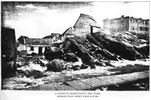 A Scene in Shantytown, New York (1880)