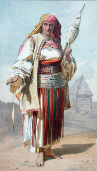 Charles Boner - A Wallack Woman from Transylvania, its Products and People (1865) by Charles Boner