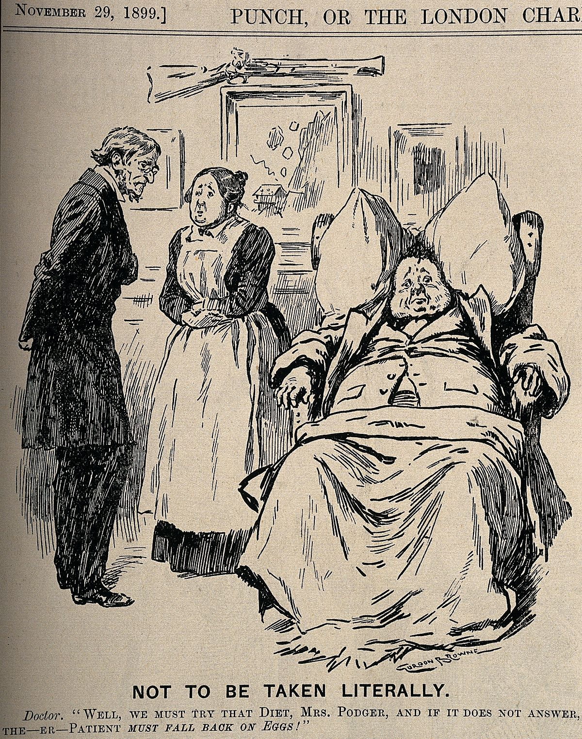 A doctor recommending a specific diet to his obese patient's Wellcome V0011454.jpg