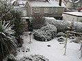 A snowy back garden - geograph.org.uk - 1155222.jpg
