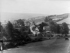 A view of Nantglyn from above the school NLW3362345.jpg
