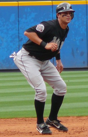 Aaron Boone - Boone with the Florida Marlins