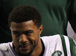 Aaron Maybin - Maybin with the New York Jets in 2011
