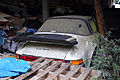 Abandoned Porsche car at Hatfield Broad Oak Essex England.JPG