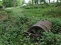 Abandoned roller in Cinderbank Copse - geograph.org.uk - 433612.jpg