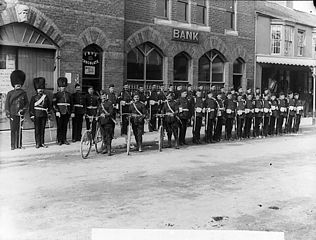 Abergele volunteers 1897 (?)
