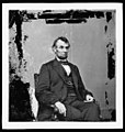 Abraham Lincoln, U.S. President. Seated portrait, facing right LOC 3252916341.jpg