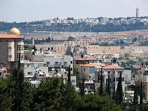 Abu Tor - Abu Tor with view of al-Aqsa mosque