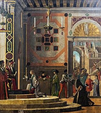 Legend of Saint Ursula - Image: Accademia Ambassadors Depart by Carpaccio
