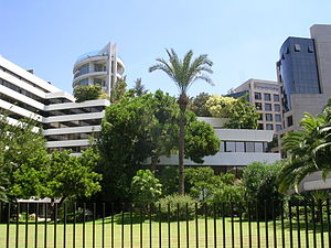 Achrafieh - Modern buildings in Achrafieh