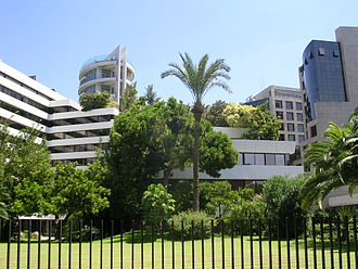 Achrafieh - Modern buildings in Achrafieh