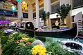 Actual Venetian gondola at the Grand Canal Shoppes, Las Vegas.jpg