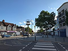 Addiscombe sign and shops.jpg