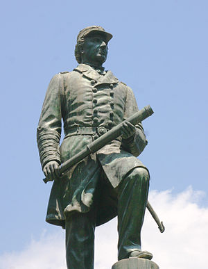 Civil War Monuments in Washington, D.C. - Admiral David G. Farragut