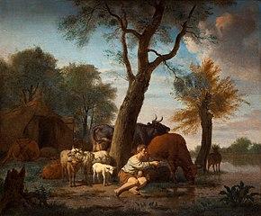 The fishing shepherd