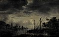 Aert van der Neer - River Landscape in Moonlight - KMSsp447 - Statens Museum for Kunst.jpg
