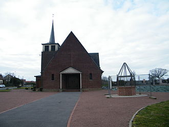 Agenville - The church of Saint-Sauveur