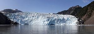 Aialik Glacier - Aialik Glacier Panorama