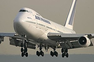 An Air France Boeing 747-200