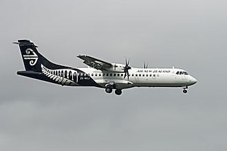 Air New Zealand - A Mount Cook Airlines ATR-72-500.