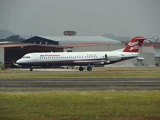 Air Panama - Mainly deployed for short-medium haul routes, the Fokker 100 has played a key role in the international expansion of Air Panama.