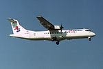 Air Srpska (JAT - Yugoslav Airlines) ATR ATR-72-202 YU-ALO (22783712955).jpg