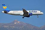 Airbus A320-212 'D-AICG' Condor (25046563316).jpg
