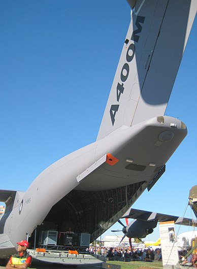 Airbus Family Days 2010 - Soute A400M.jpg