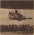 Airship R34 landing in New York July 1919 - Rear aluminum gondola car.jpg