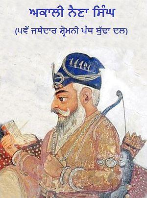 Akali Phula Singh - Akali Baba Naina Singh taught Akali Phula Singh from around the age of ten