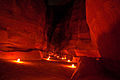 Al-Siq (Petra) by night.jpg