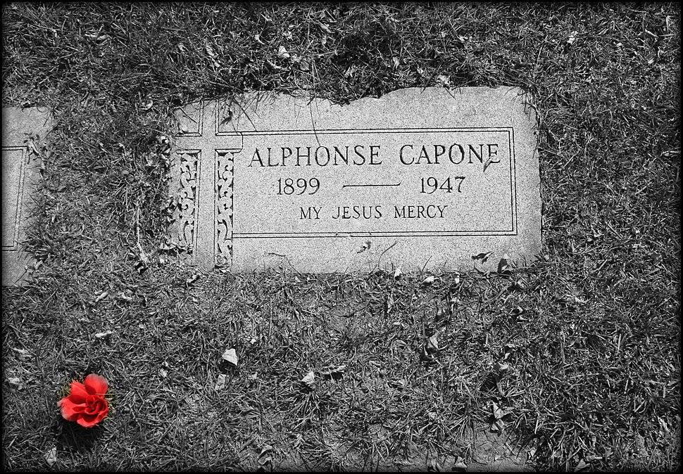 Al Capone's grave