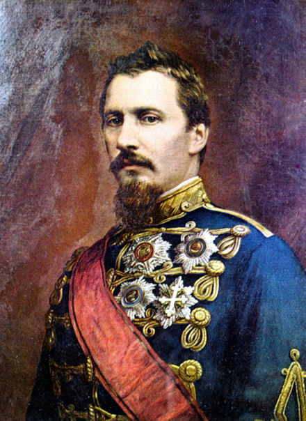Alexandru Ioan Cuza was the first Domnitor (i.e. Prince) of Romania (at that time the United Principalities of Wallachia and Moldavia) between 1862 and 1866. Al I Cuza.jpg