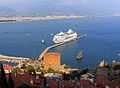 Alanya. View to the Red tower and harbor.jpg