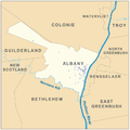 Albany, New York Map NRHP.png