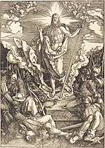 Albrecht Dürer, The Resurrection, 1510, NGA 6743.jpg