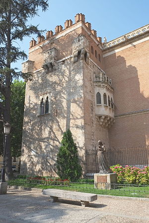 Archbishop's Palace of Alcalá de Henares - Tower of Tenorio.