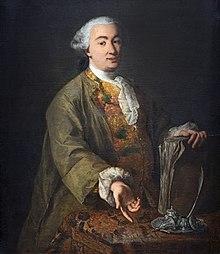 Carlo Goldoni (Porträt von Alessandro Longhi) (Quelle: Wikimedia)